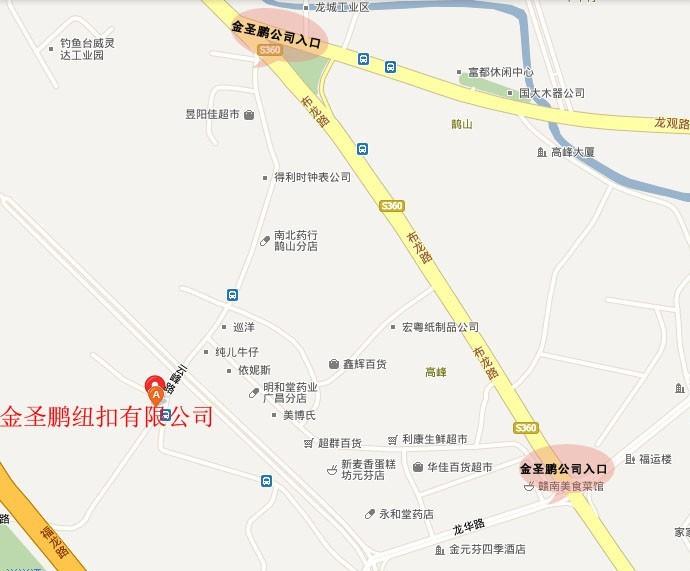 金圣鹏公司地图1
