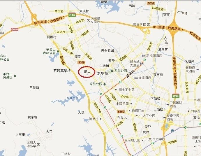 金圣鹏公司地图